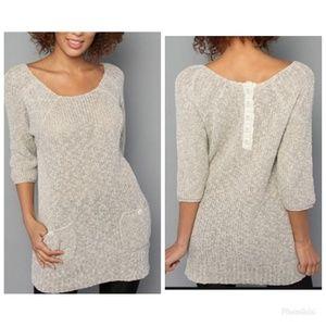 Free People Knit Tunic Sweater